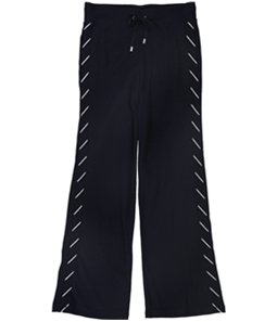 Ralph Lauren Womens Tuxedo Stripe Casual Sweatpants