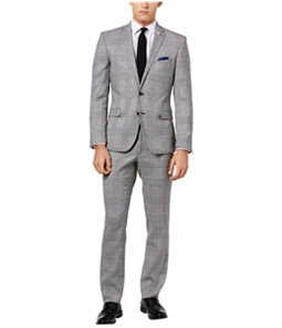 Nick Graham Mens Slim-Fit Stretch Two Button Formal Suit