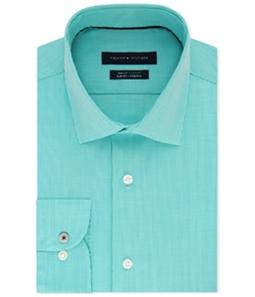 Tommy Hilfiger Mens Non-Iron Performance Button Up Dress Shirt