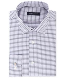 Tommy Hilfiger Mens Non-Iron Button Up Dress Shirt