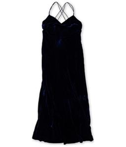 Ralph Lauren Womens Velvet A-line Gown Dress