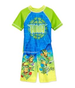 Nickelodeon Boys 2-Piece Rash Guard Graphic T-Shirt