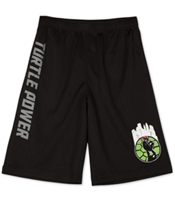 Nickelodeon Boys TMNT Turtle Power Athletic Workout Shorts