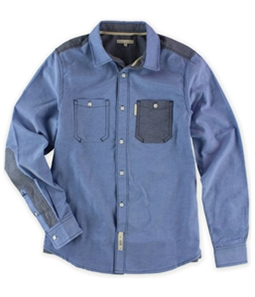 Marc Ecko Mens Utility Ox Ls Button Up Shirt