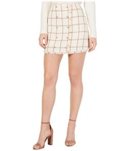 Leyden Womens Monroe Printed Mini Skirt