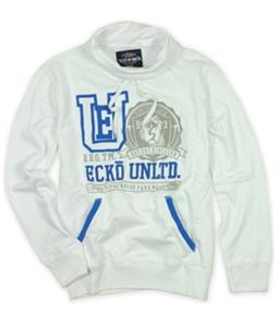 Ecko Unltd. Mens Snake Moves Embroidered Hoodie Sweatshirt