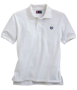 Chaps Boys Solid Logo Rugby Polo Shirt