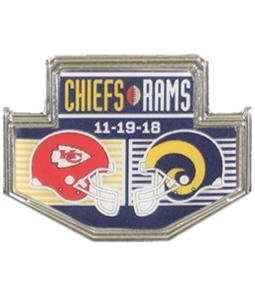 WinCraft Unisex LA Rams Vs Chiefs Pin Brooche