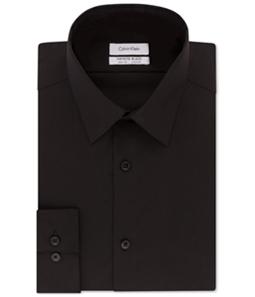 Calvin Klein Mens Stretch Button Up Dress Shirt