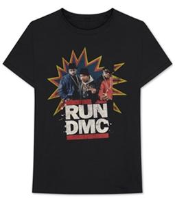 Bravado Mens Run DMC Graphic T-Shirt