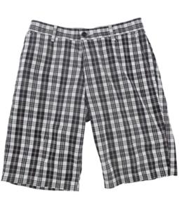 Dockers Mens Nightwatch Plaid Casual Bermuda Shorts