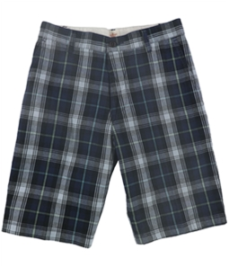 Dockers Mens Perfect Plaid Casual Walking Shorts