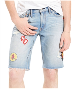 Levi's Mens Saved By Rock N' Roll Casual Bermuda Shorts