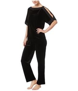 Thalia Sodi Womens Cold-Shoulder Pajama Sleep T-shirt