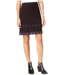 maison Jules Womens Cutout A-line Skirt