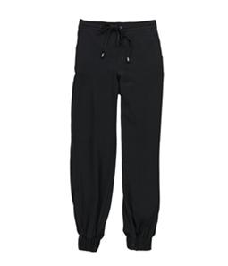 bar III Womens Contrast-Trim Casual Jogger Pants