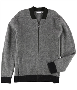 Calvin Klein Mens Constracting Collar Bomber Jacket