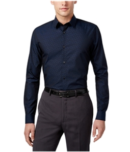 Calvin Klein Mens Floral Button Up Shirt