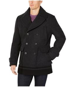 Calvin Klein Mens Wool Pea Coat