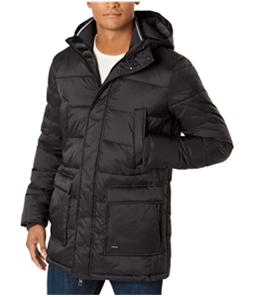 Calvin Klein Mens Winter Hooded Puffer Jacket