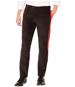 Calvin Klein Mens Velvet Stripe Casual Trouser Pants