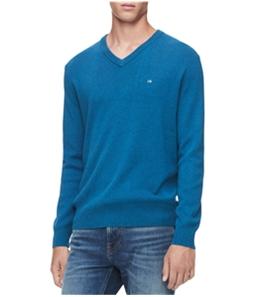 Calvin Klein Mens Ribbed V-neck Pullover Sweater