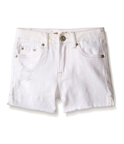 Levi's Girls High Rise Shorty Casual Denim Shorts