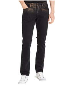 Calvin Klein Mens distressed Copper Slim Fit Jeans