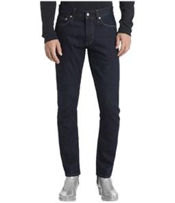 Calvin Klein Mens Logo Slim Fit Jeans