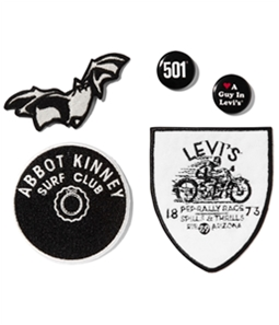 Levi's Unisex DIY Patch & Pin Decorative Sewing Patch
