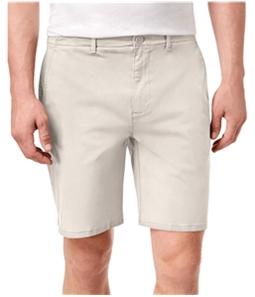 DKNY Mens Sateen Stretch Casual Chino Shorts