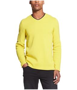 DKNY Mens V-Neck Pullover Sweater