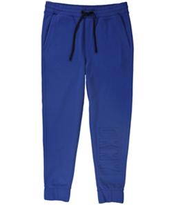 DKNY Mens Embossed Logo Casual Sweatpants