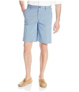 IZOD Mens Mini Plaid Casual Walking Shorts