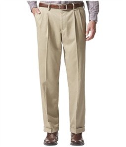 Dockers Mens Comfort Khaki Relaxed Casual Trouser Pants