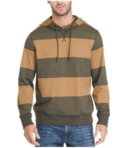G.H. Bass & Co. Mens Rugby Hoodie Sweatshirt
