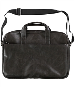 Kenneth Cole Mens Faux Leather Slim Port Briefcase