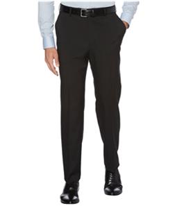 Perry Ellis Mens Stretch Crosshatch Dress Pants Slacks