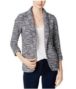 maison Jules Womens Textured Blazer Jacket