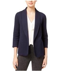 maison Jules Womens Knit Blazer Jacket