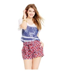 Jessica Simpson Womens Petra Soft Casual Mini Shorts