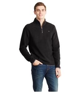 Aeropostale Mens 1/4 Zip Fleece Jacket