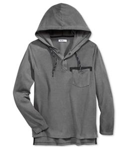 William Rast Mens Cohen Contrast Hoodie Sweatshirt