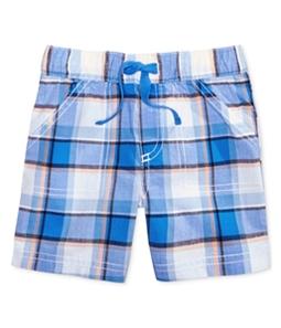 First Impressions Boys Plaid Casual Walking Shorts