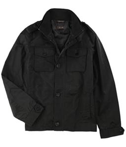 Tasso Elba Mens Four-Pocket Harrington Jacket