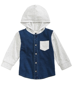 First Impressions Boys Layered Look Shirt Jacket
