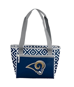 Logo Brands Unisex Rams 16 Can Insulated Cooler Backpack Tote
