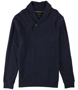 Tasso Elba Mens Textured Shawl Collar Pullover Sweater