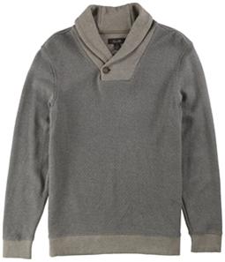 Tasso Elba Mens Shawl Collar Knit Sweater