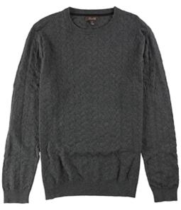 Tasso Elba Mens Chevron Patterned Knit Pullover Sweater